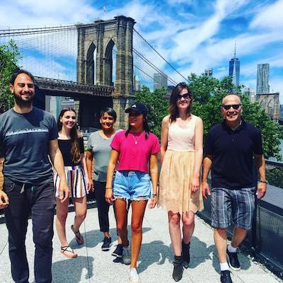 Brooklyn Walking Tour, Brooklyn Bridge, Empire Stores Rooftop.