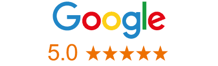google rating 5 stars