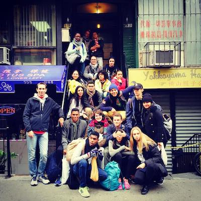 Student Group on an Immigrant Life tour in Chinatown