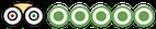 logotipo de 5 estrellas de Tripadvisor