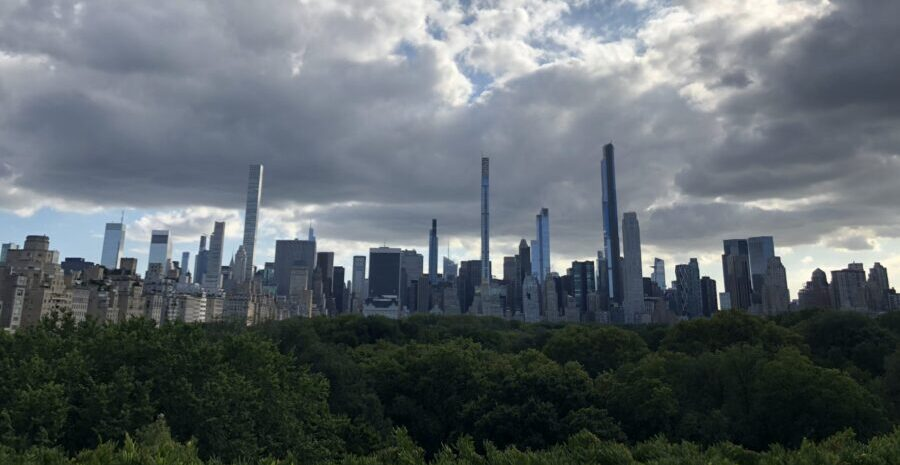 View from the Metropolitan Museum of Art Rooftop