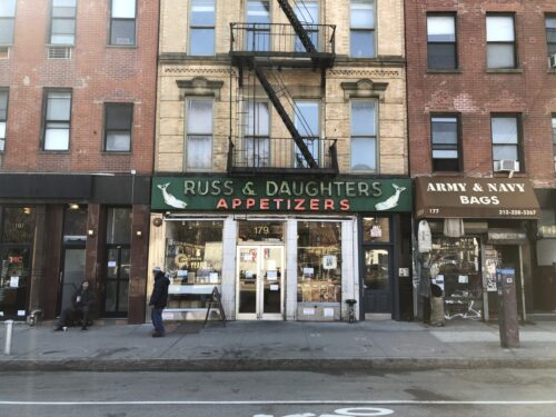 Russ and Daughters since 1914